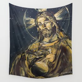 I am the light of the world Wall Tapestry