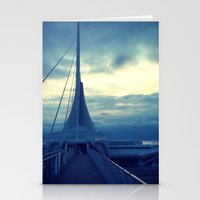 milwaukee Stationery Cards featuring Milwaukee Morning by Laughable Life