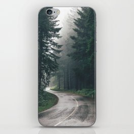 Forest Road iPhone Skin