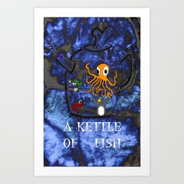 Kettle of Fish Art Print
