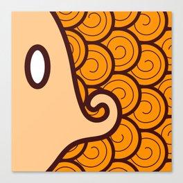 Niji Sakana (Orange) Canvas Print