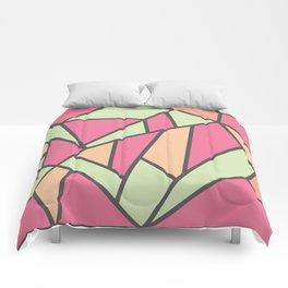 Geometric Colour Pattern V5 Comforters