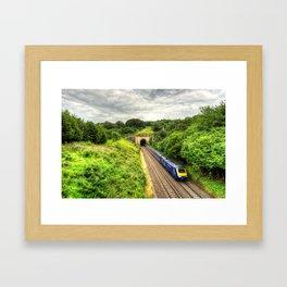 Box Tunnel  Framed Art Print