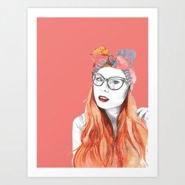 Foreveryoursbetty Portrait Art Print