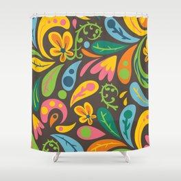 Organic Flourishes Shower Curtain