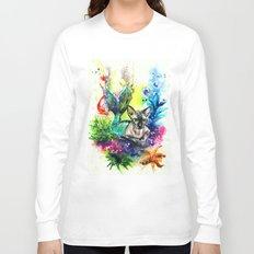 Moomin the purrmaid Long Sleeve T-shirt