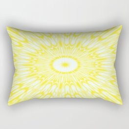 The Sun : Kaleidoscope Mandala Rectangular Pillow