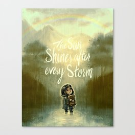 End of the Storm Canvas Print