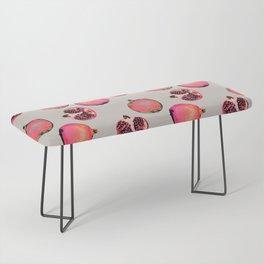 Pomegranate Pattern Bench