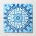 Mandala blue blossom by christinebssler
