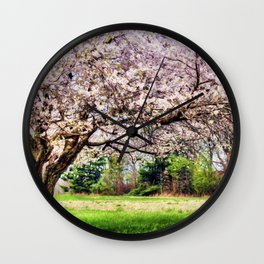 Spring has Sprung Wall Clock