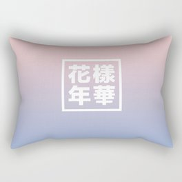 BTS + Pantone Rectangular Pillow