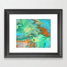 Tropics Framed Art Print