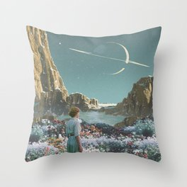 POSSIBLE WORLDS Throw Pillow