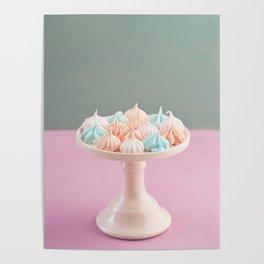 Mini meringue kisses Poster