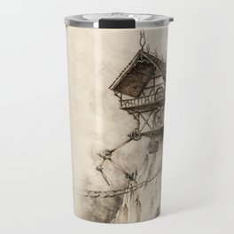 Steampunk House Travel Mug