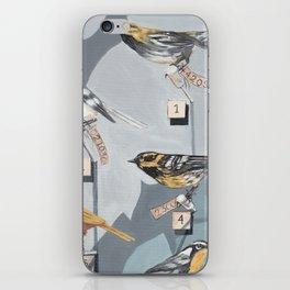 Warbler Exhibit Museum Birds iPhone Skin