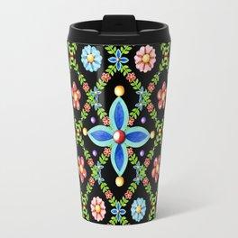 Millefiori Heraldic Lattice Travel Mug