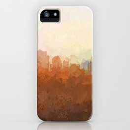 Kansas City, Missouri Skyline - In the Clouds iPhone Case