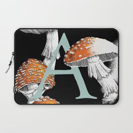 A is for Amanita muscaria Laptop Sleeve