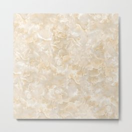 Scaly Marble Texture Metal Print