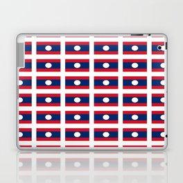 flag of Laos -Muang Lao,ເມືອງລາວ ,laotien,lao,ventiane,Lan Xang Hom Khao Laptop & iPad Skin