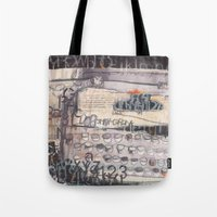 typewriter Tote Bags featuring Typewriter!  by Tracey Shaw