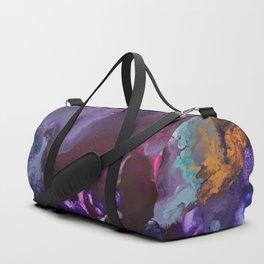 Expressive Flow 1 - Mixed Media Pain Duffle Bag