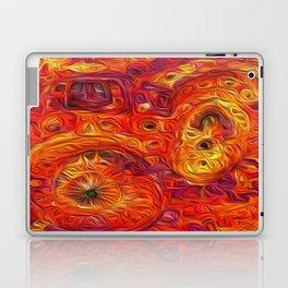 Citrus Eruption- Artificial Intelligence Artwork Laptop & iPad Skin