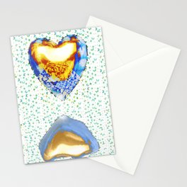Tiger Heart Digital Collage Stationery Cards