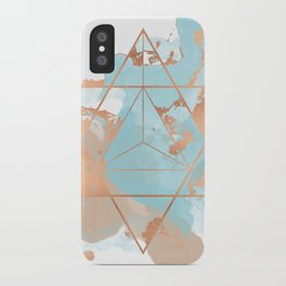 Transforming Within - Copper Rose Gold iPhone Case