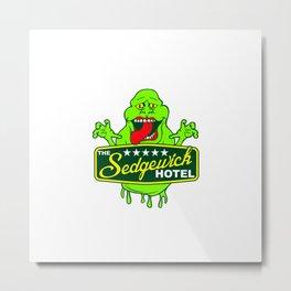 Ghost Hotel Metal Print