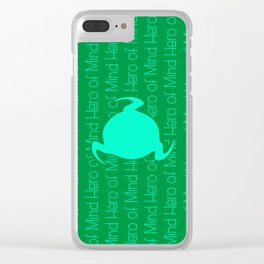 Hero Of Mind Clear iPhone Case