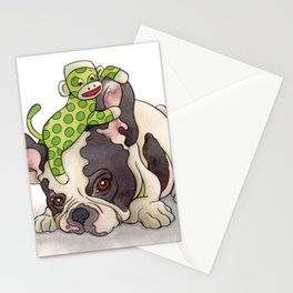 Pouting Bubba Stationery Cards