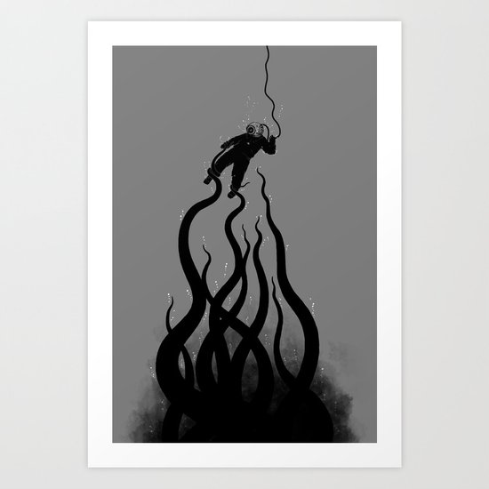 The Abyss Art Print