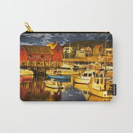 Motif Number 1 , Bearskin Neck, Rockport MA Carry-All Pouch