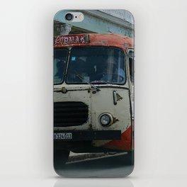 Cuban bus iPhone Skin