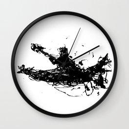 Kayakers Kayak Wall Clock