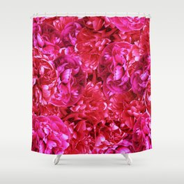 A palaver of peonies Shower Curtain