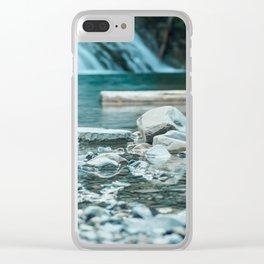 La Rivière Émeraude Clear iPhone Case