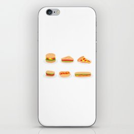 Junk Food iPhone Skin