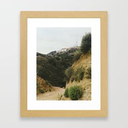 Beachwood Canyon Framed Art Print