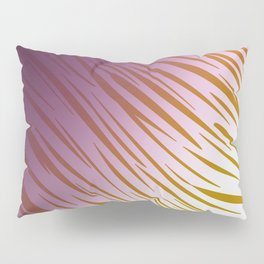 wild lines pink with gold Pillow Sham