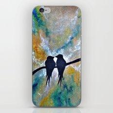 Valentines Love Birds iPhone & iPod Skin