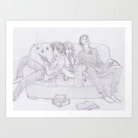 burdge Art Prints featuring Aim by Burdge