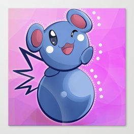 Baby Blue Canvas Print