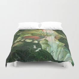 He Is Life Itself Duvet Cover