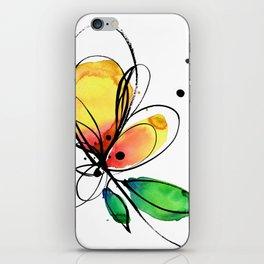 Ecstasy Bloom No.8 by Kathy Morton Stanion iPhone Skin