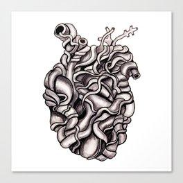 Strangled Heart Canvas Print