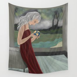 Looking For a Better World Wall Tapestry